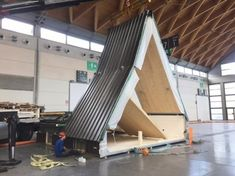 M.A.DI. Modular, Folding, A-frame from Italy More info: madihome.com Submitted by Domenico Antonucci / @domenico__antonucci via...
