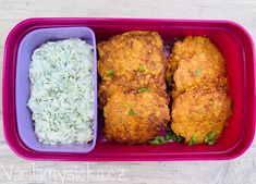 Tzatziki, Bento, Cauliflower, Diet Recipes, Food And Drink, Low Carb, Meals, Snacks, Vegan