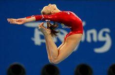 Nastia Luikin 2008 Olympics.  Makes me wish I was a gymnast.....