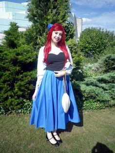 Ariel Blue Dress | Ariel Blue 'Kingdom' dress 3 by ObsidiansAtelier