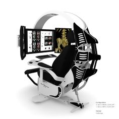 Emperor Computer Workstation