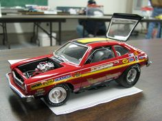 Drag Racing Model Cars | ... Ford Pinto Kendig/Dyno Don Pro Stock Drag Race Model Car - 3,809KB