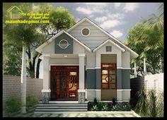 Nhà cấp 4 mái thái đẹp 7x17m có gác lửng là một trong những mẫu nhà cấp 4 đẹp đón nhận được nhiều thiện cảm của các gia chủ ở ngoại ô và nông thôn khi lựa chọn chốn an cư bền vững cho gia đình...