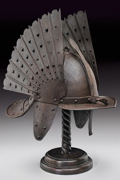 A helmet,Poland, 19th century. - Art Curator & Art Adviser. I am targeting the most exceptional art! Catalog @ http://www.BusaccaGallery.com