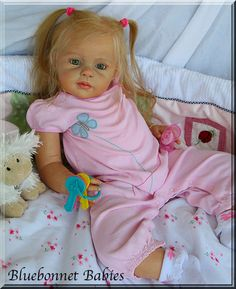 "NEW ❀Bluebonnet Baby❀ REBORN ""Louisa"" Toddler Girl by Jannie De Lange❤ | eBay"