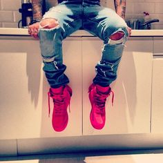 Love the shoes and jeans!