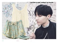 """""""J-Hope"""" by hitthisfeeling ❤ liked on Polyvore featuring Oris, H&M, Miss Selfridge and Croft & Barrow"""
