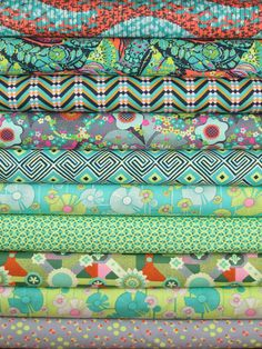 Amy Butler, Glow, Zest in FAT QUARTERS 12 Total