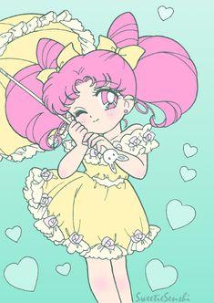 ChibiUsa by Sweetie Senshi - Sailor Moon fanart Sailor Chibi Moon, Sailor Moon Tumblr, Sailor Jupiter, Sailor Mars, Chibiusa And Helios, Sailor Moon Personajes, Manga Anime, Loli Kawaii, Sailor Moon Character