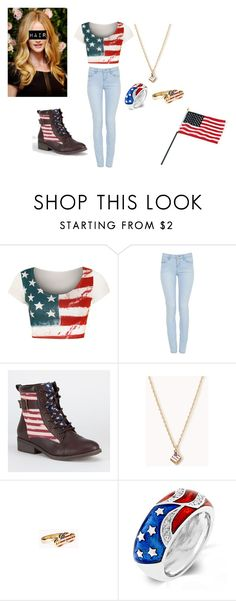 """""""Happy 4th! :D"""" by brit-sapphire ❤ liked on Polyvore featuring Papermoon, Qupid, Forever 21, Fantasy Jewelry Box and Sarah Jessica Parker"""