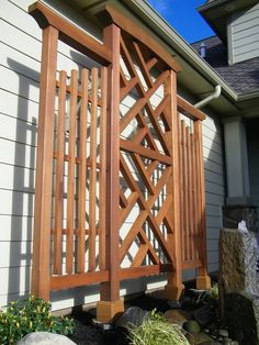 Wall Trellis, Chippendale Style, Clear Western Red Cedar - The Effective Pictures We Offer You About Pergola lighting A quality picture can tell you many thi - Diy Pergola, Metal Pergola, Cheap Pergola, Wooden Pergola, Pergola Shade, Gazebo, Pergola Ideas, Metal Roof, Pergola Screens