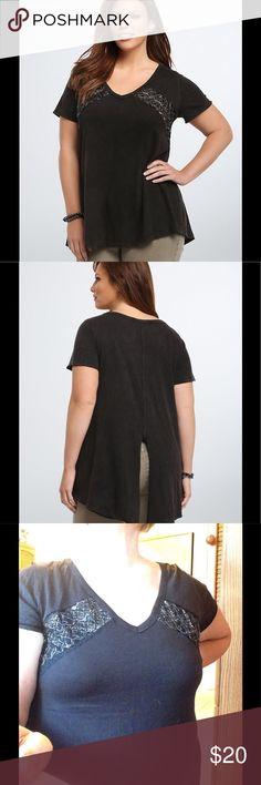 Tie Front Button, Blouse Femme, Noir (Black 1), 46New Look