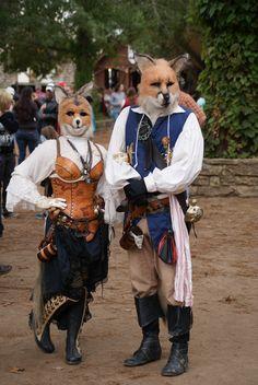 Tx. Renaissance Festival - Animal Costumes