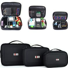 Find More Wallets Information about 3 pcs Organizer Storage Carry Bag Case For USB flash drive cable memory card power include 3 bags,High Quality bag jewelry,China case camera bag Suppliers, Cheap bag croco from Best2Trade on Aliexpress.com