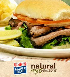 Beef with Horseradish and Blue Cheese #NaturalSelections @Maple Leaf®