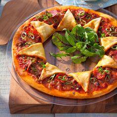 Découvrez la recette de la pizza soleil au chorizo