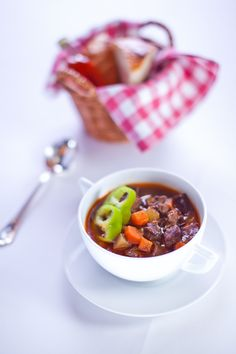 Treat yourself to a truly Hungarian goulash soup available 24/7 at Four Seasons Hotel Gresham Palace Budapest.