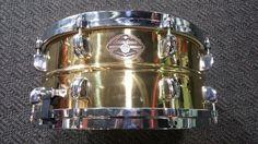 Tama Starclassic Brass Snare Drum 6 5x14 Die Cast Hoops