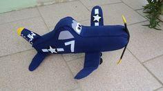 Skipper Aviões em feltro