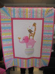 Modern Pink Designs: Baby Quilts, Baby Quilts