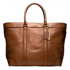 {Bleecker Legacy Leather Weekend Tote, Coach} What a fancy carry on bag! Now, if I only had fancy places to go and buckets of money.