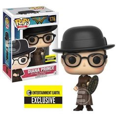 PREORDER Funko POP! Heroes Wonder Woman DIANA PRINCE 176 EE Exclusive Figure 889698107655 | eBay
