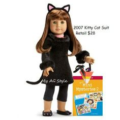 American Girl Doll 2007 Kitty Cat Suit