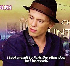 Gif of Jamie Campbell Bower