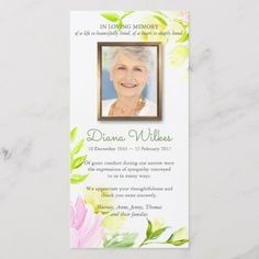 Funeral Thank You Cards Pastel Roses 1 Funeral Card Messages, Funeral Thank You Notes, Funeral Cards, Sympathy Thank You Cards, Thank You Note Cards, Custom Thank You Cards, Thank You Card Template, Card Templates, Funeral Guest Book