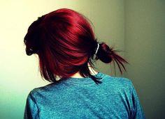 Garnet toned - Love this hair color!