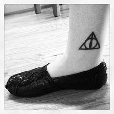 My Deathly Hallows tattoo:)