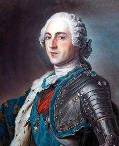 LOUIS XV de France (1710 - 1774) / By Christian Denechaud.