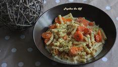 Papilles On/Off: One pot pasta végétarien : pâtes, carottes, lentilles corail et curry