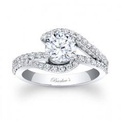 Unique Engagement Ring - 7848LW