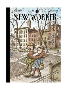 Todays cover The New Yorker, artwork Ricardo Liniers read here more about this cover. Art Editor Françoise Mouly (read here about her book 'Blown Covers' New Yorker Covers You Were Never Meant to See) Creative director Wyatt Mitchell The New Yorker, New Yorker Covers, Capas New Yorker, Magazine Art, Magazine Covers, Humor Grafico, Vintage Magazines, Illustrations And Posters, Cover Art