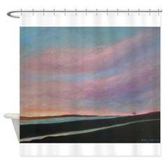 SUNRISE OVER MATANZAS Shower Curtain
