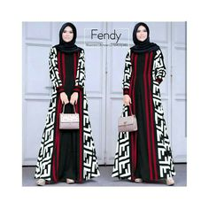 Gambar mungkin berisi: 2 orang Batik Fashion, Abaya Fashion, Muslim Fashion, Modest Fashion, Fashion Dresses, Batik Muslim, Simple Long Dress, Muslimah Wedding Dress, Arabic Dress