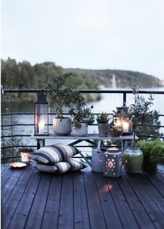 25 Calm Scandinavian Terrace Designs | DigsDigs