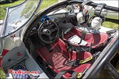 Habitacle Porsche 910, n261, Tour Auto Optic 2000