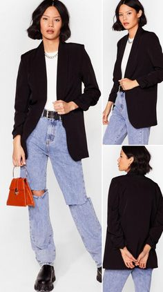 Ruche Hour Relaxed Blazer