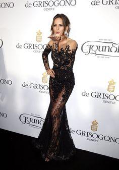 Supermodellen verleiden in Cannes