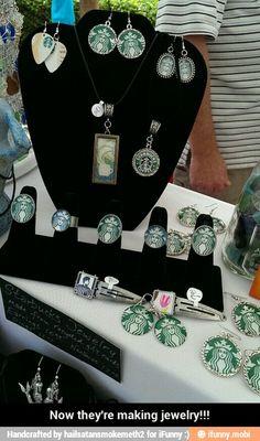 Starbucks jewelry