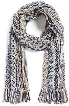 Pin for Later: 30 Gifts That Are So Carrie Bradshaw  Missoni Zigzag Scarf ($155)