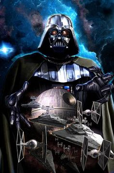 "Greg Horn has done it again. Following up on his astounding invention of a never-before-seen color early in 2014, the superstar artist one-ups himself, revealing an entirely new chromatic range of hues in his new Darth Vader #1 cover for Marvel Comics. The new tints and tones are collectively called Pewvers, reproducing what the artist says is ""all the colors between pewter and silver""."