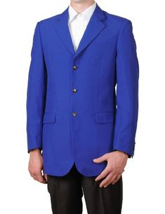 Looking for the perfect Men's Royal Blue Single Breasted Three Button Suit Jacket Sportscoat Dinner Blazer? Please click and view this most popular Men's Royal Blue Single Breasted Three Button Suit Jacket Sportscoat Dinner Blazer. Royal Blue Suit, Royal Blue Blazers, Blue Blazer Outfit, Blazer Outfits, Western Suits, Dinner Jacket, Coat Sale, Mens Attire, Blazers For Men
