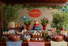 Festa Era Uma Vez: tema meigo e original! Once Upon a Time Birthday Party: cute and original theme!