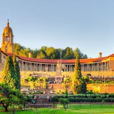 The Union Buildings in Pretoria, Capital City of South Africa.