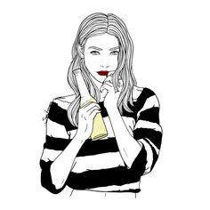 Bohemio Mundi: La diáfana ilustradora Sara Herranz