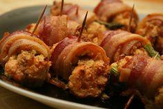 Bacon Wrapped Salmon & Asparagus