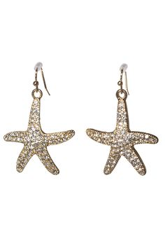SUMMER GOLD STARFISH EARRINGS - Shop Simply Me Boutique – Simply Me Boutique